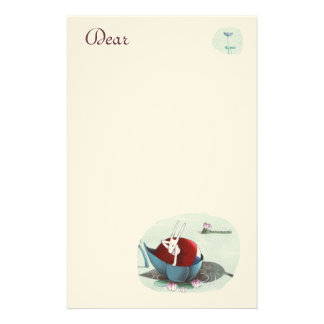 Bea and the Cocco in love Stationery