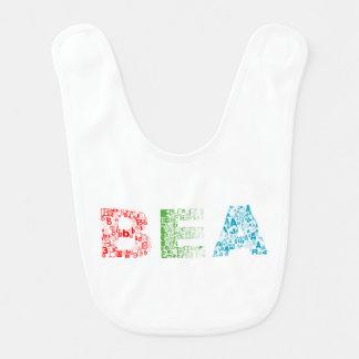 Bea Letter Name Bib