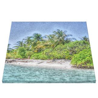 beach 08 canvas print