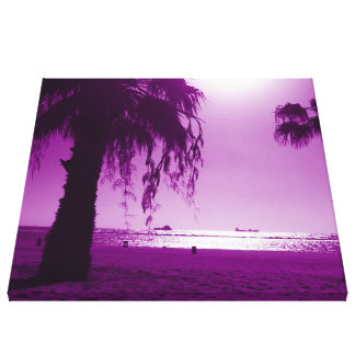 beach 13 stretched canvas print