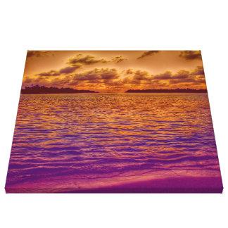 beach,18 canvas print