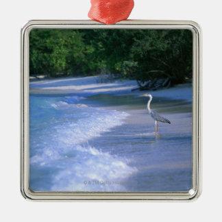 Beach 2 christmas ornament
