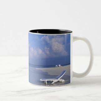 Beach 3 Two-Tone coffee mug