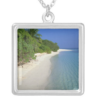 Beach 4 silver plated necklace
