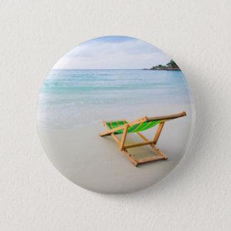 Beach 6 Cm Round Badge