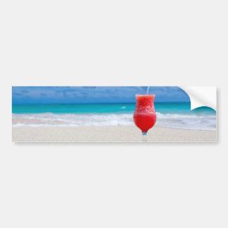 beach-84533 beach beverage caribbean cocktail drin bumper sticker