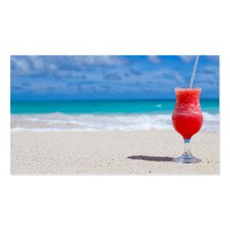 beach-84533 beach beverage caribbean cocktail drin business cards