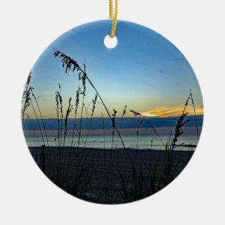 Beach 96 Ceramic Ornament