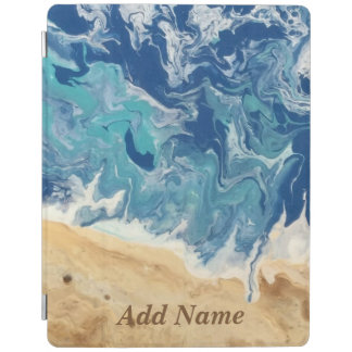 Beach Abstract Personalized iPad Case iPad Cover