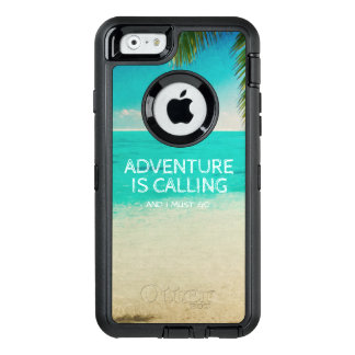 Beach Adventure is Calling Travel Quote Phone OtterBox iPhone 6/6s Case