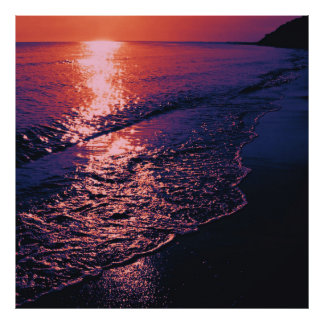 Beach altered colors 04 print