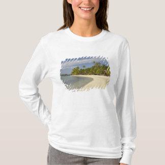 Beach and palm trees, Plantation Island Resort 2 T-Shirt