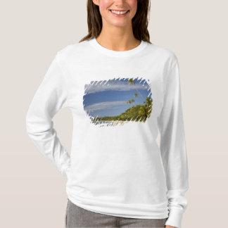 Beach and palm trees, Plantation Island Resort T-Shirt