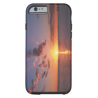 Beach and the sunset tough iPhone 6 case