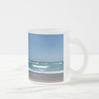 Beach and waves Mug