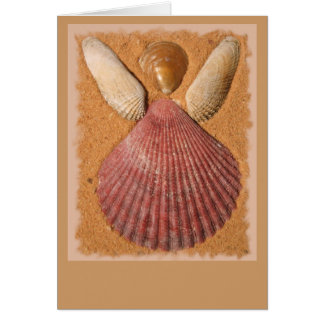Beach Angel Blank Card