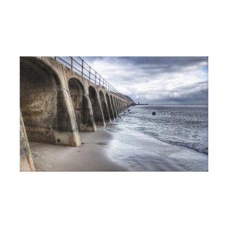 Beach Arches Canvas Print