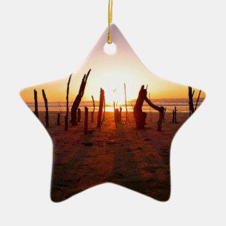 Beach Art Christmas Ornament