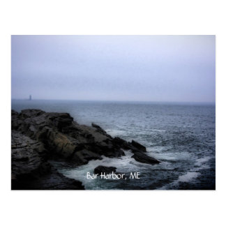 Beach at Acadia, Bar Harbor, ME Postcard
