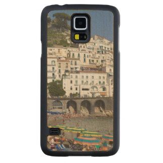 Beach at Amalfi, Campania, Italy Carved Maple Galaxy S5 Case