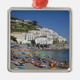 Beach at Amalfi, Campania, Italy Christmas Ornament