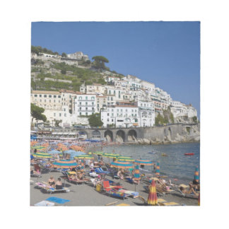 Beach at Amalfi, Campania, Italy Notepad