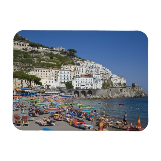 Beach at Amalfi, Campania, Italy Rectangular Photo Magnet
