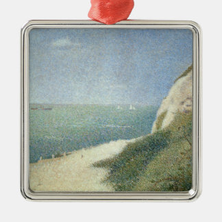 Beach at Bas Butin, Honfleur, 1886 Christmas Ornament