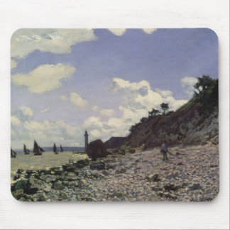 Beach at Honfleur, 1864 (oil on canvas) Mouse Pads