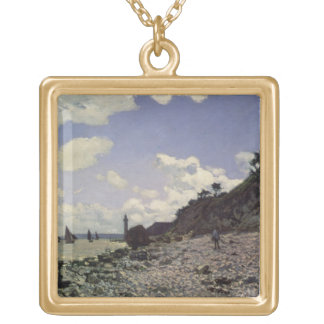 Beach at Honfleur, 1864 (oil on canvas) Necklaces