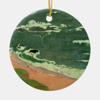 Beach at Le Pouldu, 1889 Christmas Ornament