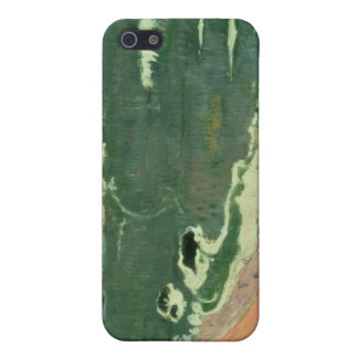 Beach at Le Pouldu, 1889 iPhone 5 Covers