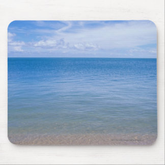 Beach at low tide mouse pad
