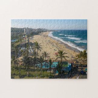 Beach At Margate, South Coast, Kwazulu-Natal 2 Jigsaw Puzzle