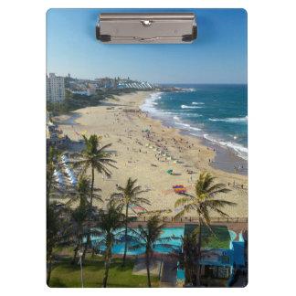 Beach At Margate, South Coast, Kwazulu-Natal Clipboard