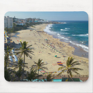 Beach At Margate, South Coast, Kwazulu-Natal Mouse Mat