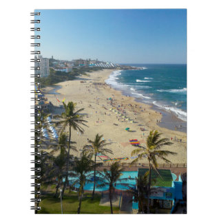 Beach At Margate, South Coast, Kwazulu-Natal Notebook