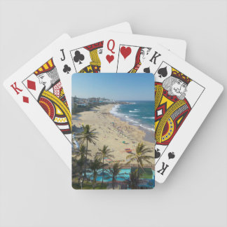 Beach At Margate, South Coast, Kwazulu-Natal Playing Cards