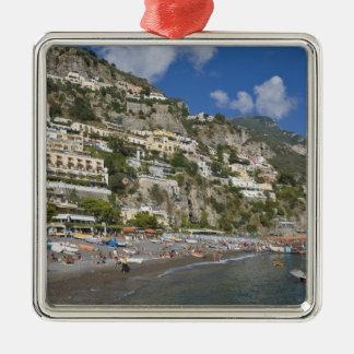 Beach at Positano, Campania, Italy Christmas Ornament