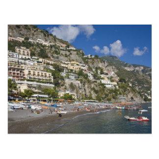 Beach at Positano, Campania, Italy Postcard