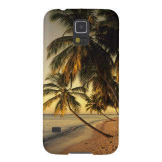 Beach at sunset, Trinidad Galaxy S5 Cases