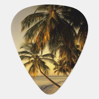 Beach at sunset, Trinidad Guitar Pick