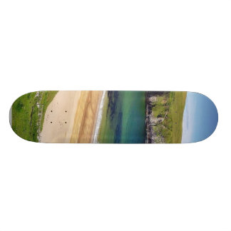 Beach At Trabane Strand With Lot Of Sand Skate Board