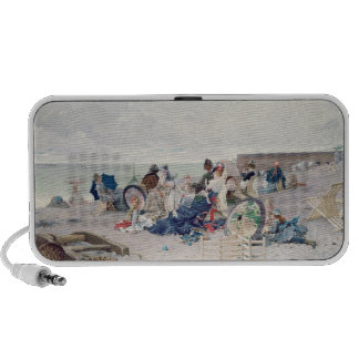 Beach at Yport, 1878 (oil on canvas) Mp3 Speakers