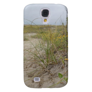 Beach Autumn Wildflowers Galaxy S4 Case