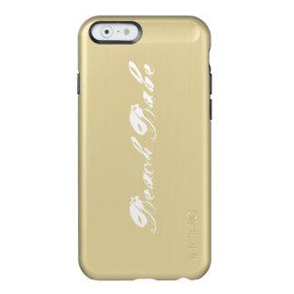Beach Babe Gold Phone Case