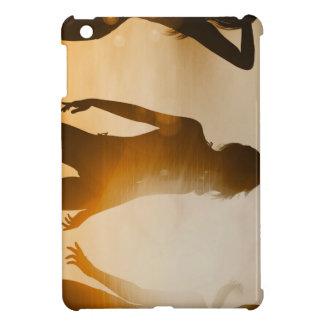 Beach Babes Sunset Silhouette Enjoying the Sun iPad Mini Covers