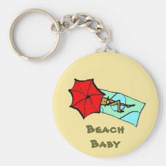 Beach Baby - keychain