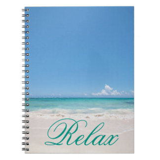 Beach Backgroud Notebook