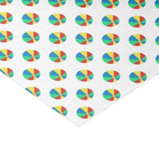 Beach Ball Pattern Tissue Paper